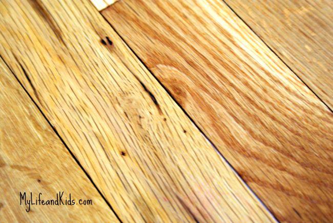 Removing permanent marker from your hardwood floors, cleaning tips, Household tips, schoonmaak tips, huishoud tips, viltstift van houten vloeren verwijderen, schoonmaken