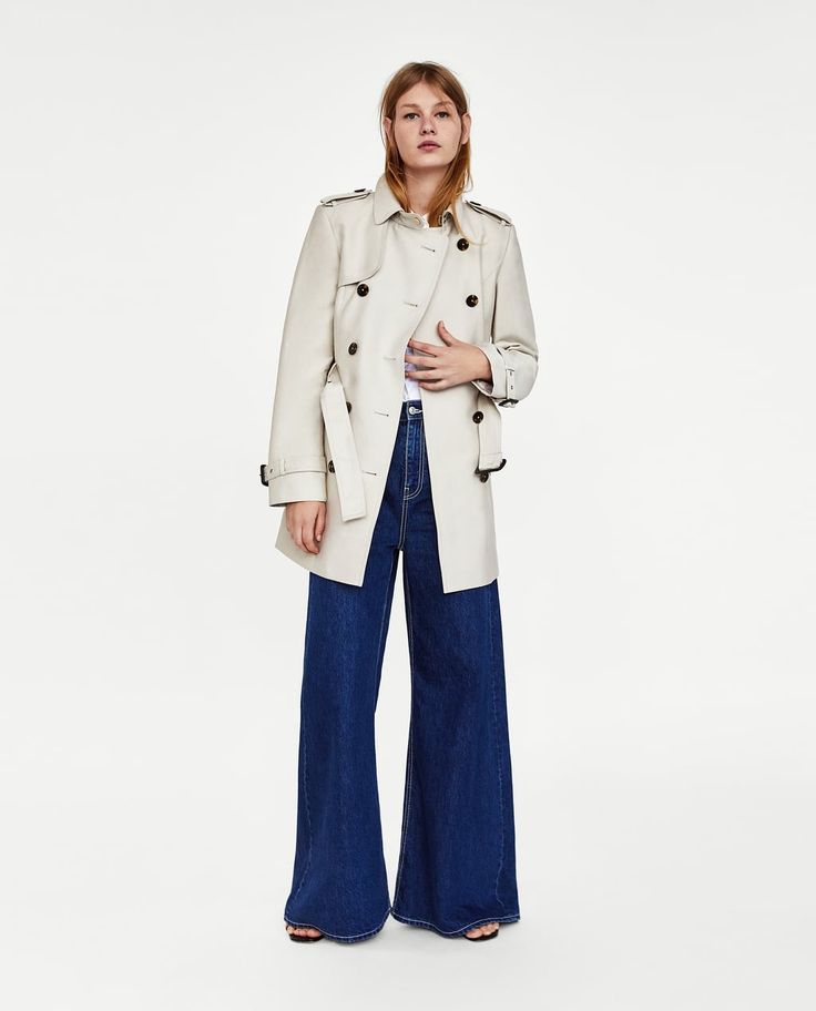 SHORT TRENCH COAT-NEW IN-WOMAN   ZARA United States