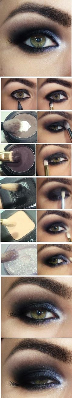 I'm in love with this look. For more beauty, makeup and nail art ideas and tips, go to wwwlsparkofallure.com