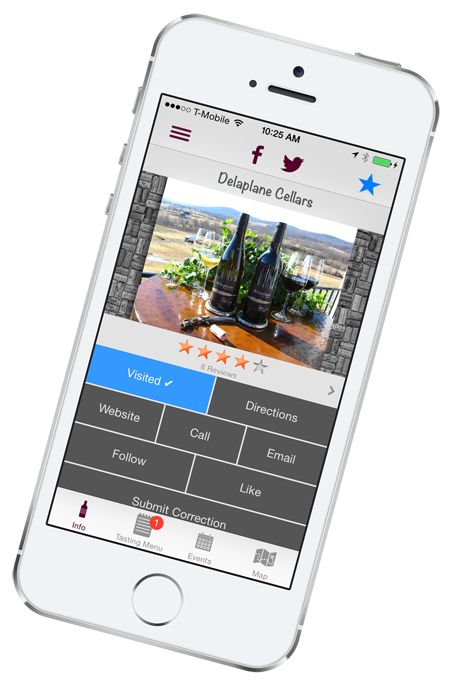 VinoWine app features Virginia wineries and events!