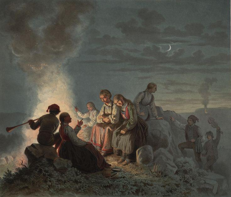 St. Hansaften paa Landet . jpg (5817×4969)
