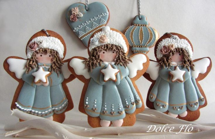 Decorated Christmas Cookies ~ inspiration