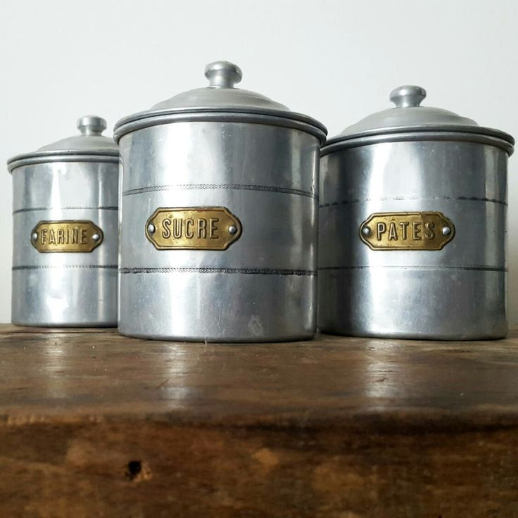French Kitchen Canisters: Home Decor Images On Pinterest