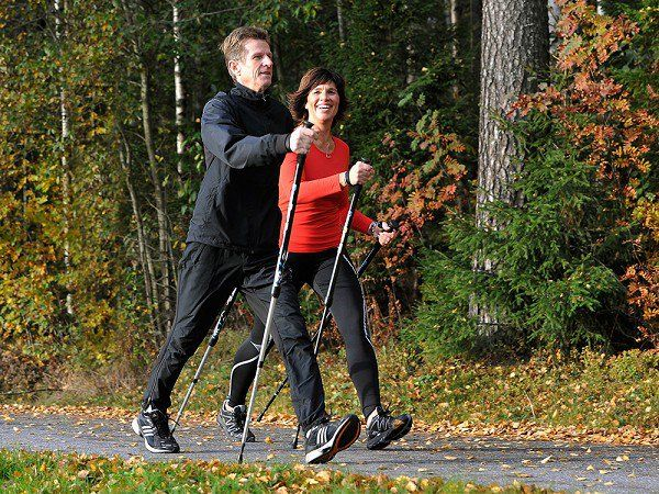 Fitness Walking Poles by Bungy Pump