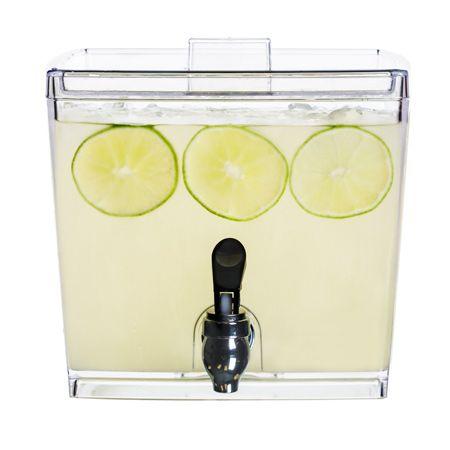 15 gallon stackable plastic beverage dispenser - Beverage Dispensers