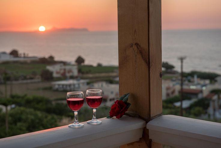 Summer 2016 is coming! #Greece #Rethymno #cretanvillas #holidays #relaxation #love #sunset #sfakaki #cretanvillas