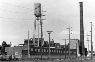 Ovaltine factory in Villa Park IL.  Grew up less than a block away and woke up to the sweet smell of chocolate every day...