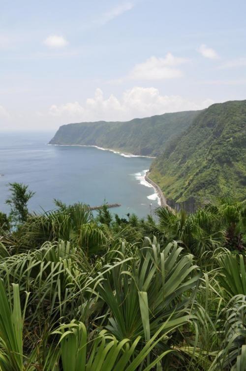 八丈島最南端の小岩戸ヶ鼻方面からは絶景!八丈島の見所!