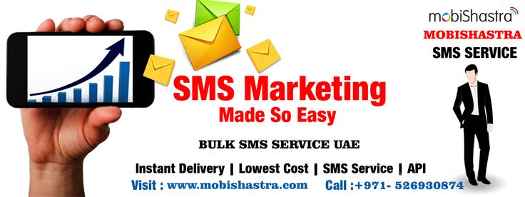 Mobishastra Technologies is one of the leading bulk sms service provider Dubai. With a user friendly interface and cost effective prizes..