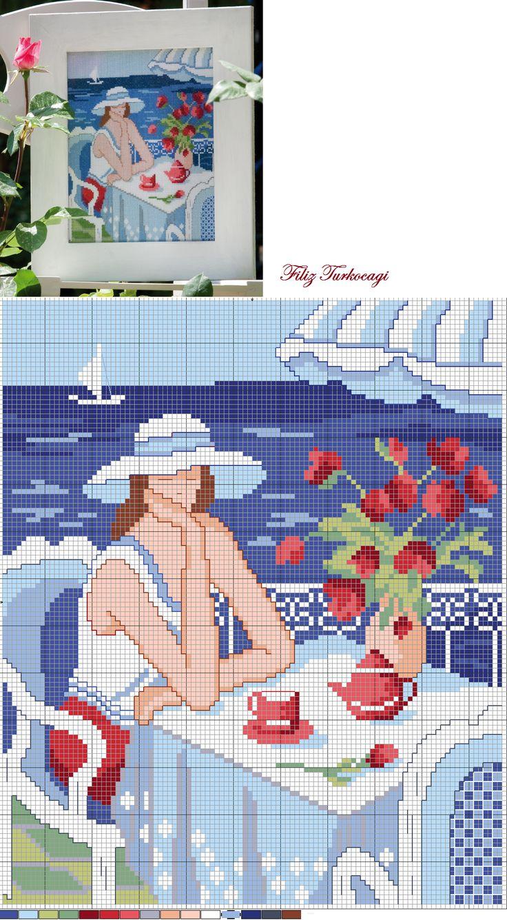 Söylenecek çok şey var ama, burası yeri değil... Bu nedenle yalnızca ''Dünya Kadınlar Günü'' nüzü kutluyorum... (Happy World Women's Day ) Designed and stitched by Filiz Türkocağı...