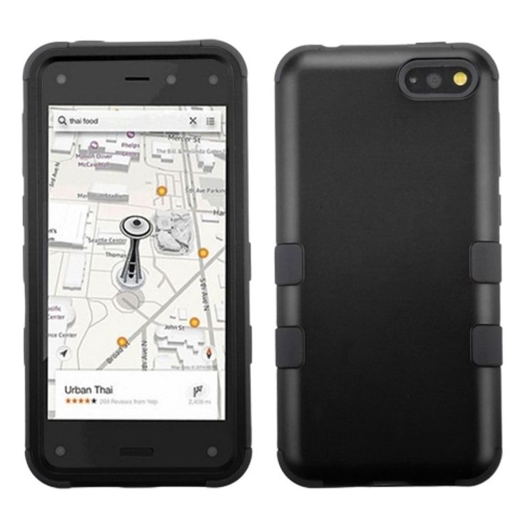 Insten Tuff Dual Layer Hybrid Rubberized Hard PC/ Silicone Phone Case Cover For Amazon Fire Phone #1934225