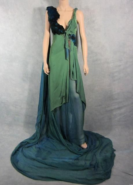 SPARTACUS GAIA JAIME MURRAY SCREEN WORN ROMAN GOWN PREQUEL EP 4