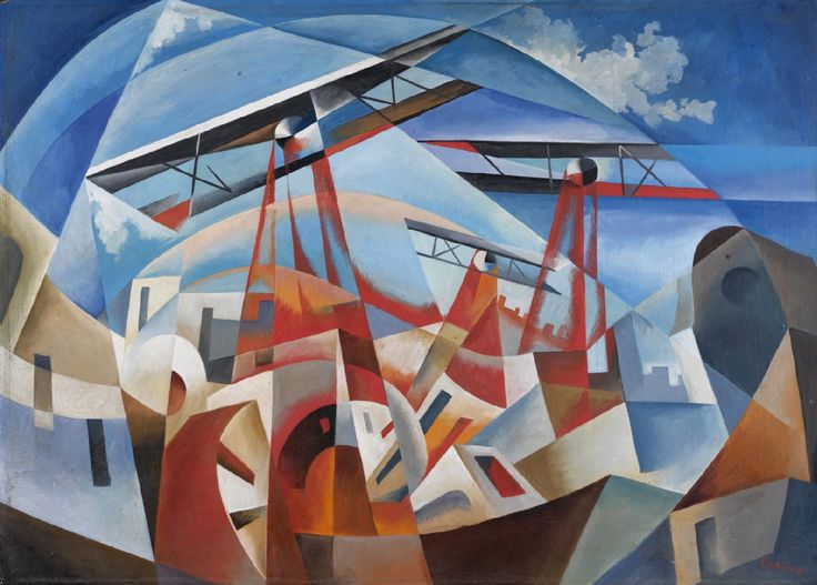 MID-CENTURIA : Art, Design and Decor from the Mid-Century and beyond: Italian Futurist Paintings