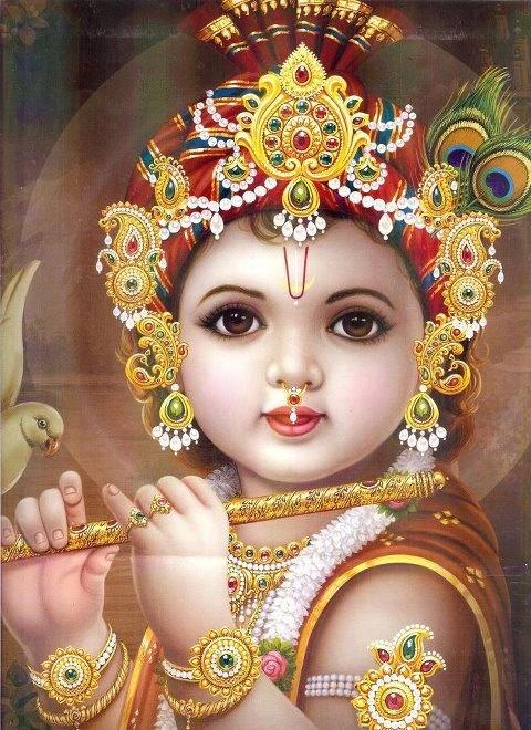 Baby Krishna:)