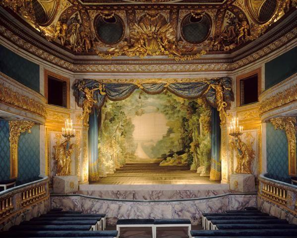 le théâtre de la reine Marie-Antoinette au château de #Versailles
