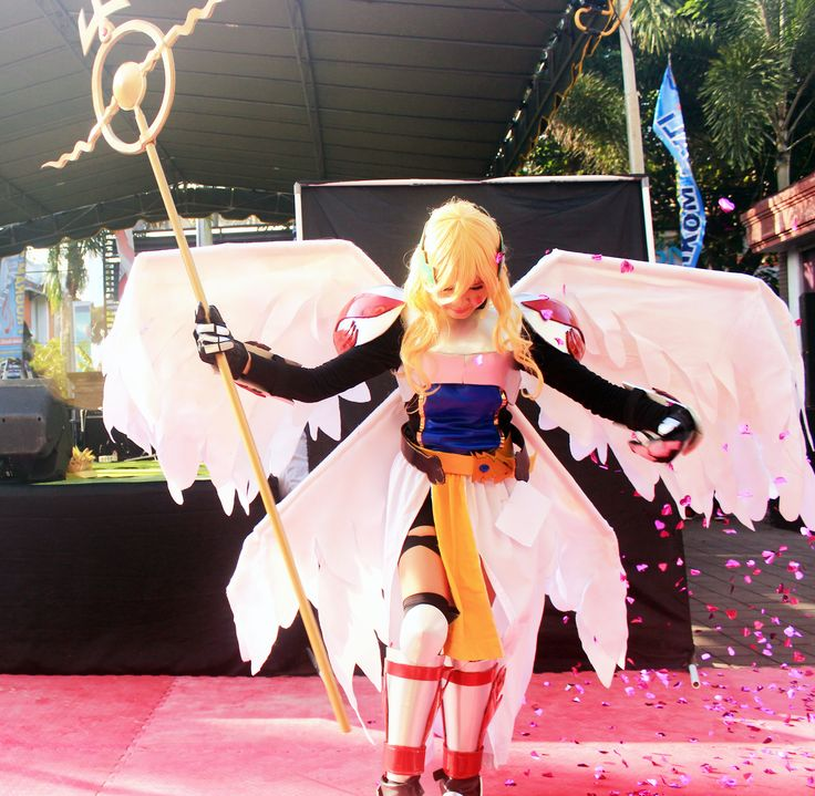 isnt that marvelous ??? #best #cosplayer at stikom stmik japanese event... at 25-27 #may #2015 #stikom #stmik #renon #bali #japanese #event #bali #guide #balithisweek
