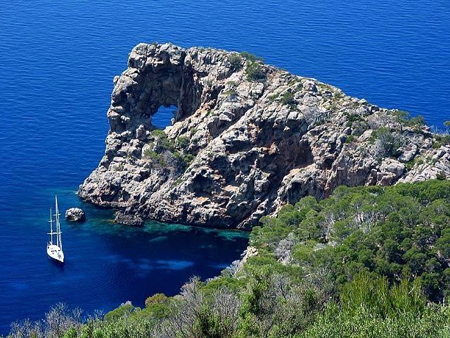 Sa foradada, Deià, Mallorca