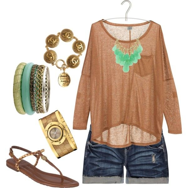 .Boho Summer, Summer Looks, Clothes, Cute Summer Outfit, Summer Outfits, Summertime, Brown Gold, Summer Time, Outfit Colors