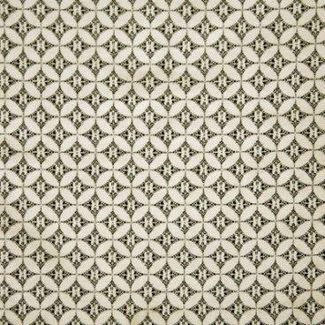 Samara Charcoal oilcloth tablecloth