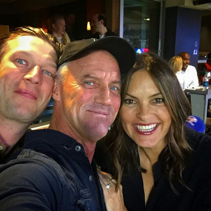 Mariska hargitay,robert john burke and peter scanavino