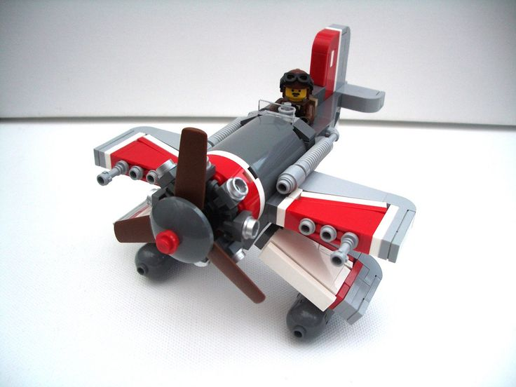 /by 2 Much Caffeine #flickr #LEGO #plane