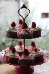 Mini cupcakes al lampone