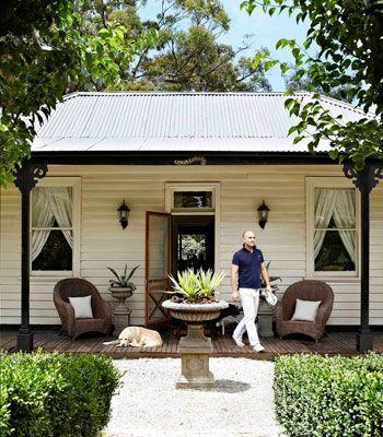 King of country: designer Justin Bishop's Dandenong Ranges cottage