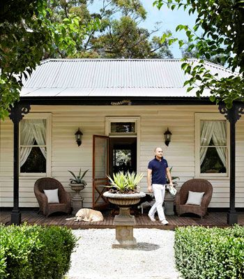 King of country: designer Justin Bishop's Dandenong Ranges cottage