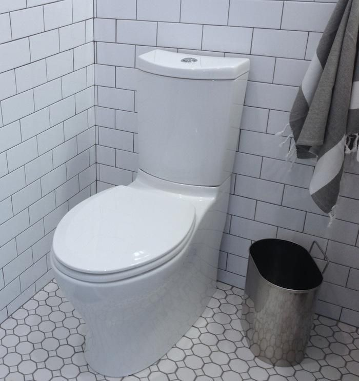 Kohler Persuade High Efficiency Toilet, Remodelista--ideas for toilet replacement