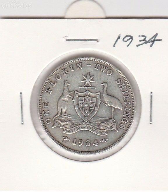 Florin  1934, KGV, good condition by jones101 - $25.00