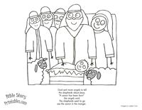 Free Bible Coloring Pages For Christmas The Birth Of Jesus Christ In Manger Makes Beautiful Nativity Scene Mary And Angel Road To Bethlehem