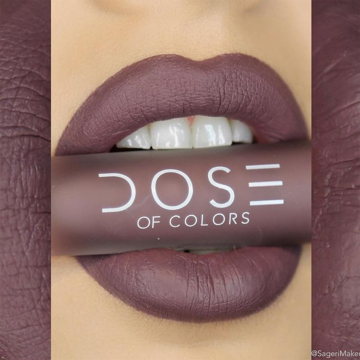 Dose Of Colors Matte Lipstick :: COLD SHOULDER