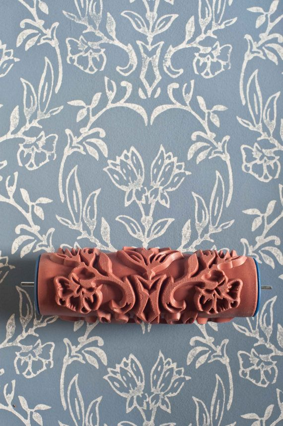 Because ordinary wall covering is no passe! Patterned paint roller