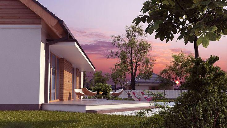Projekt domu SZ5 Z313 - DOM OZ8-92 - gotowy projekt domu