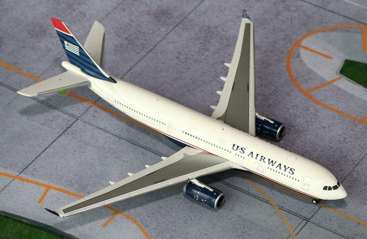 1/400 GeminiJets US Airways Airbus A330-200 Diecast Model