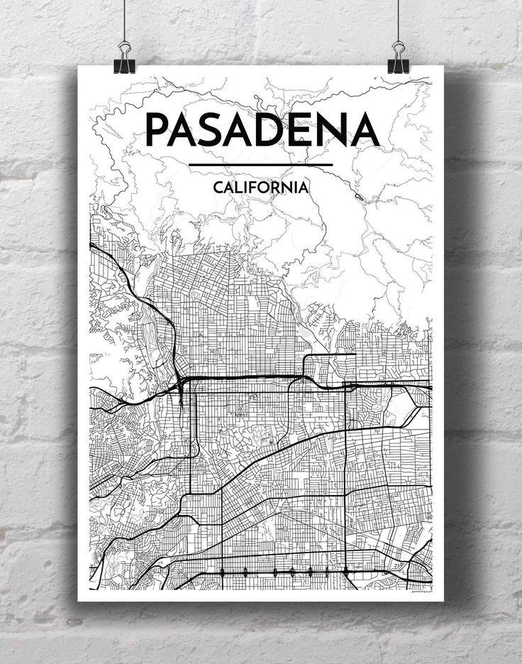 Best 25 Pasadena map ideas on Pinterest  Pasadena california map