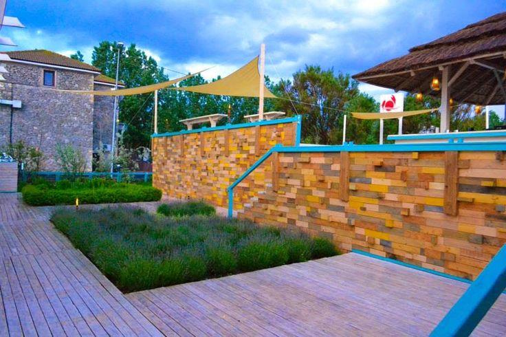 Proiect peisagistica si design terasa lemn Peisagist Alexandru Gheorghe