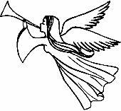 Üvegmatrica : Trombitáló angyal/Angyal, Vallás