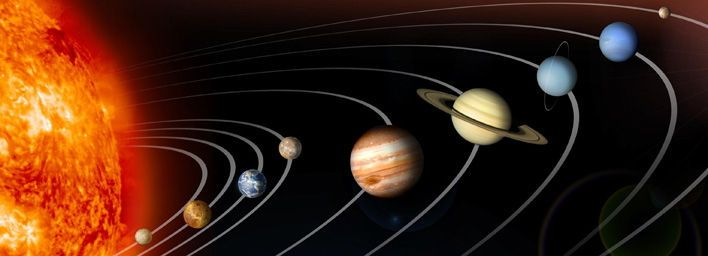 There used to be nine planets. Now there are eight, or maybe nine after all. Whichever you prefer, here is a list of them in the order they appear in the solar system.