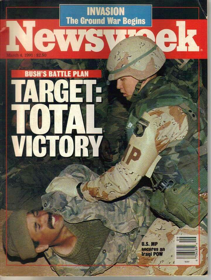 Newsweek Cover, Operation Desert Storm.