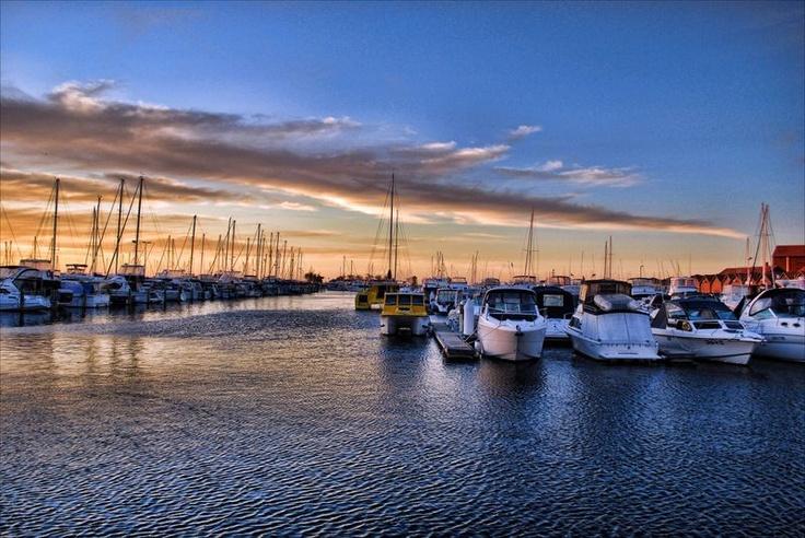 Hillarys Marina, Western Australia.