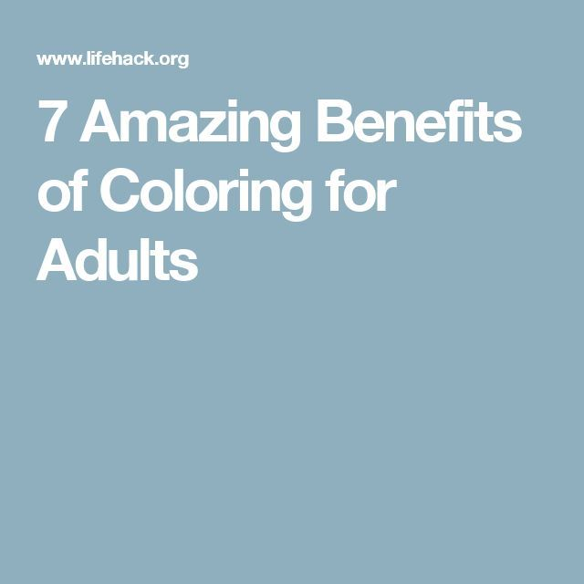 7 Amazing Benefits Of Coloring For Adults