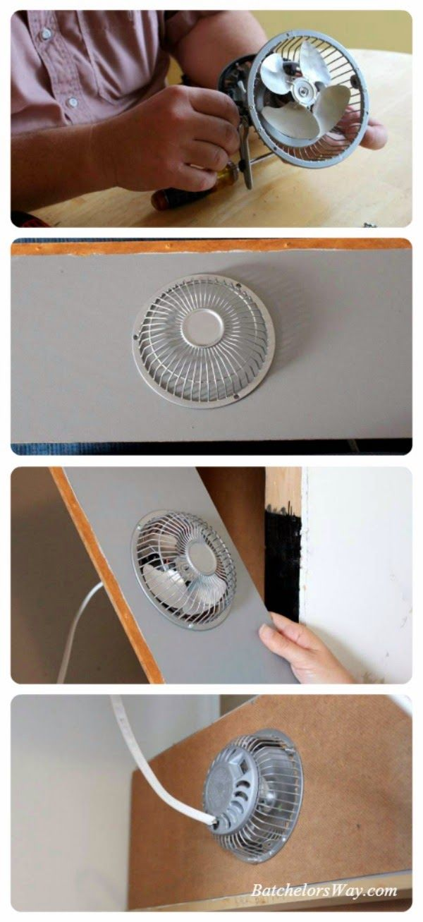 Batchelors Way: Update on the Laundry Room How to install timer fan behind drying racks