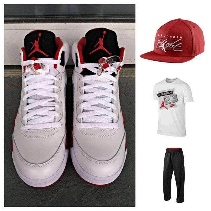 Alliance For Networking Visual Culture U00bb Jordan Retro 5 Fire Red Outfit