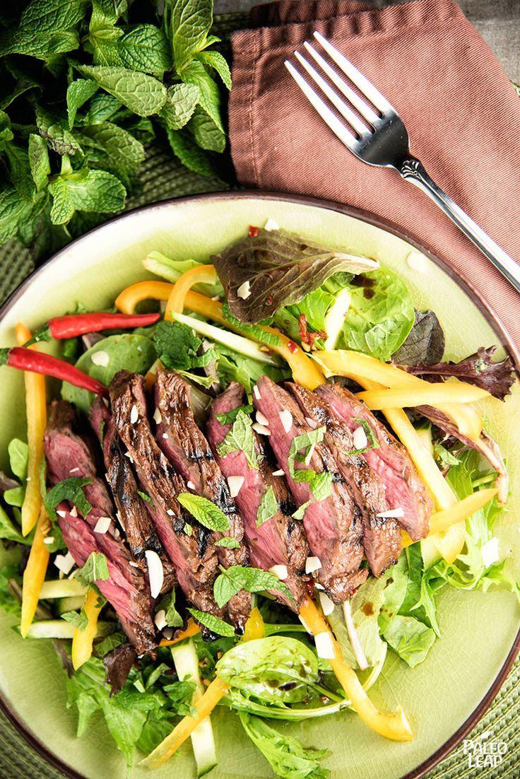 Thai Style Steak Salad - A fresh twist on steak salad, featuring a ...