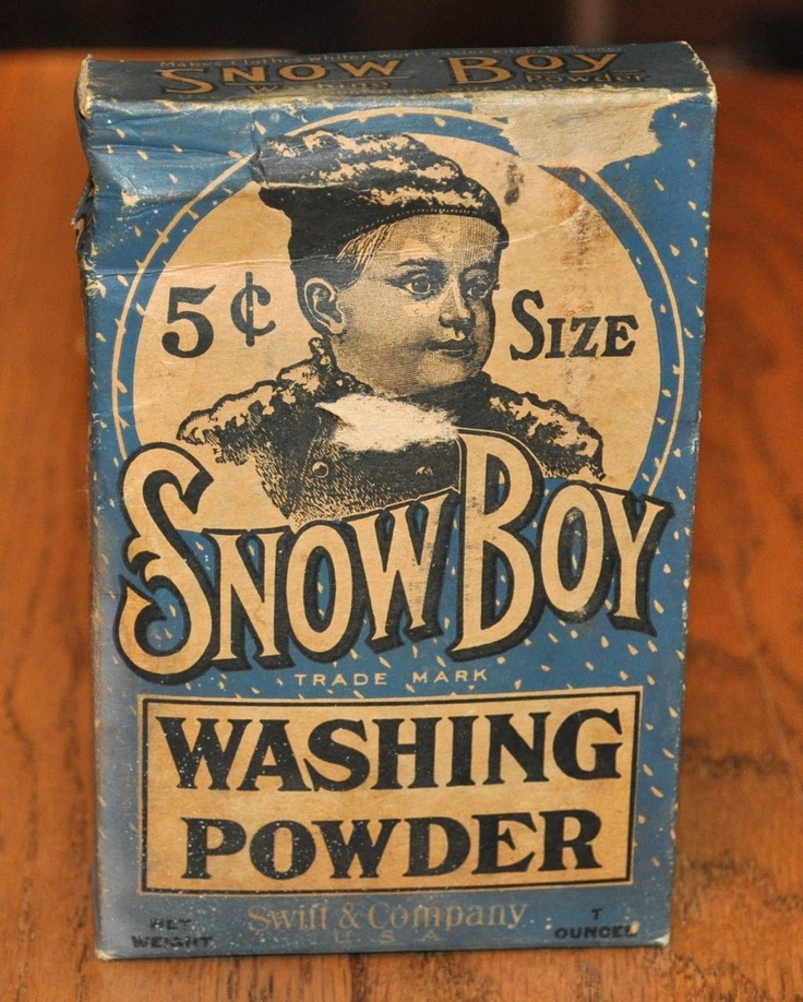 Snow Boy Washing Powder from secollectibles on Ruby Lane