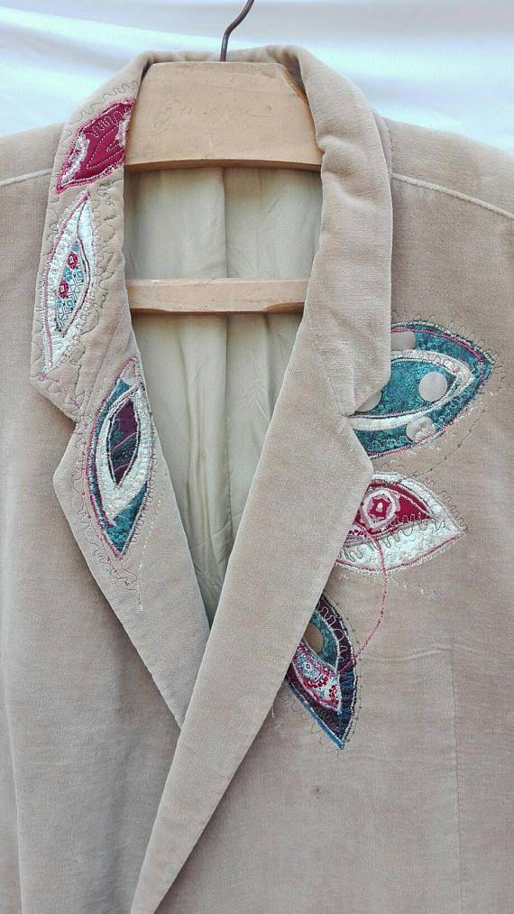 Guarda questo articolo nel mio negozio Etsy https://www.etsy.com/it/listing/522558028/giacca-velluto-giacca-donna-vintage