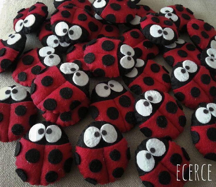 Best Ladybug Felt Ideas On Pinterest Felt Hair Clips Felt