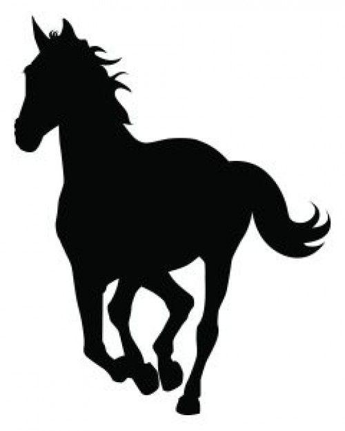 Resultado de imagen para silueta de caballo