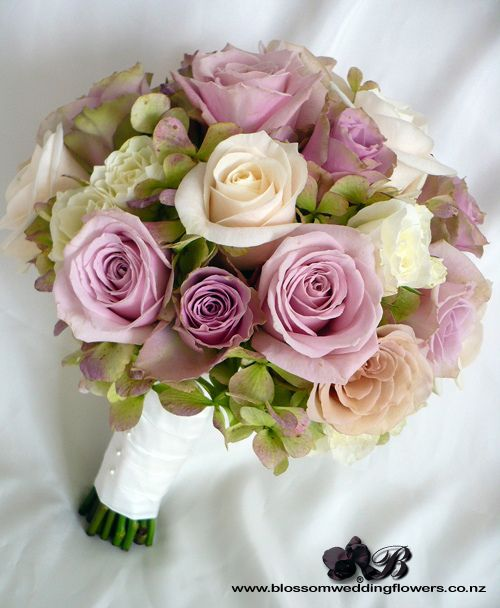 Dusky pink and cream rose bouquet @Allison j.d.m j.d.m j.d.m j.d.m Todd